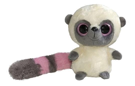 Мягкая игрушка Aurora Юху и его друзья 65-100 Лемур Юху, 12 см фото