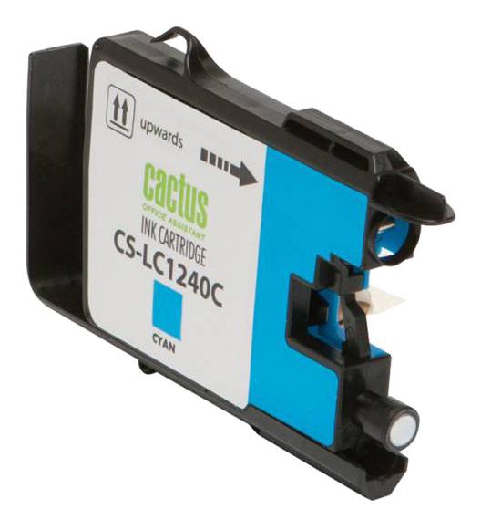 Картридж для струйного принтера Cactus CS-LC1240C  - купить со скидкой