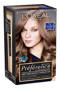 Краска для волос L\'Oreal Paris Preference оттенок 7,1 Исландия