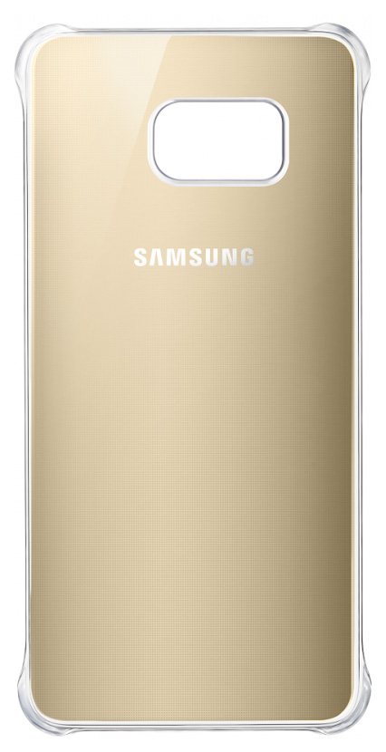 Чехол Samsung Glossy Cover для Samsung Galaxy S6 Edge Plus Золотой