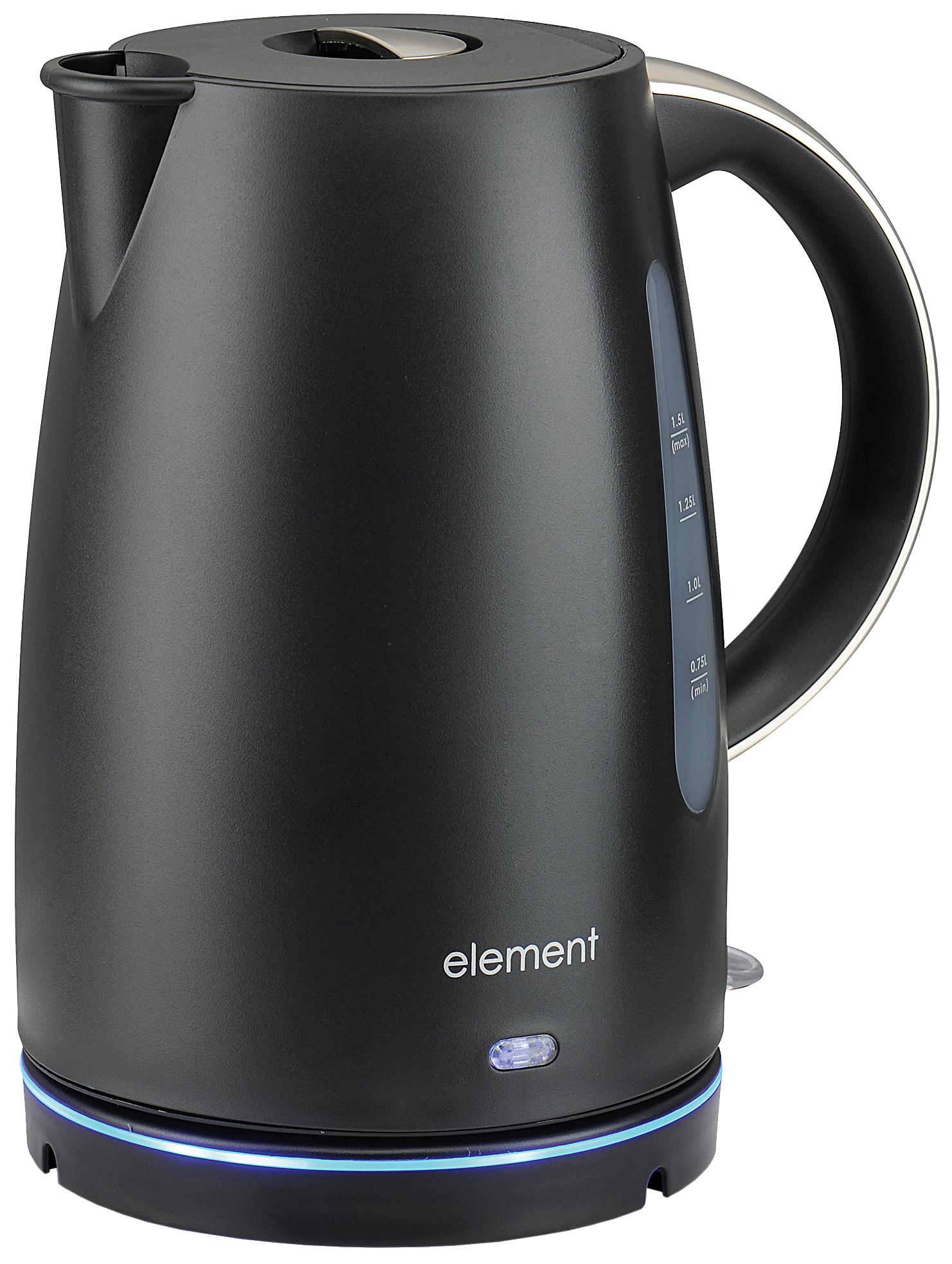 Чайник электрический Element El'Kettle WF08PB Black