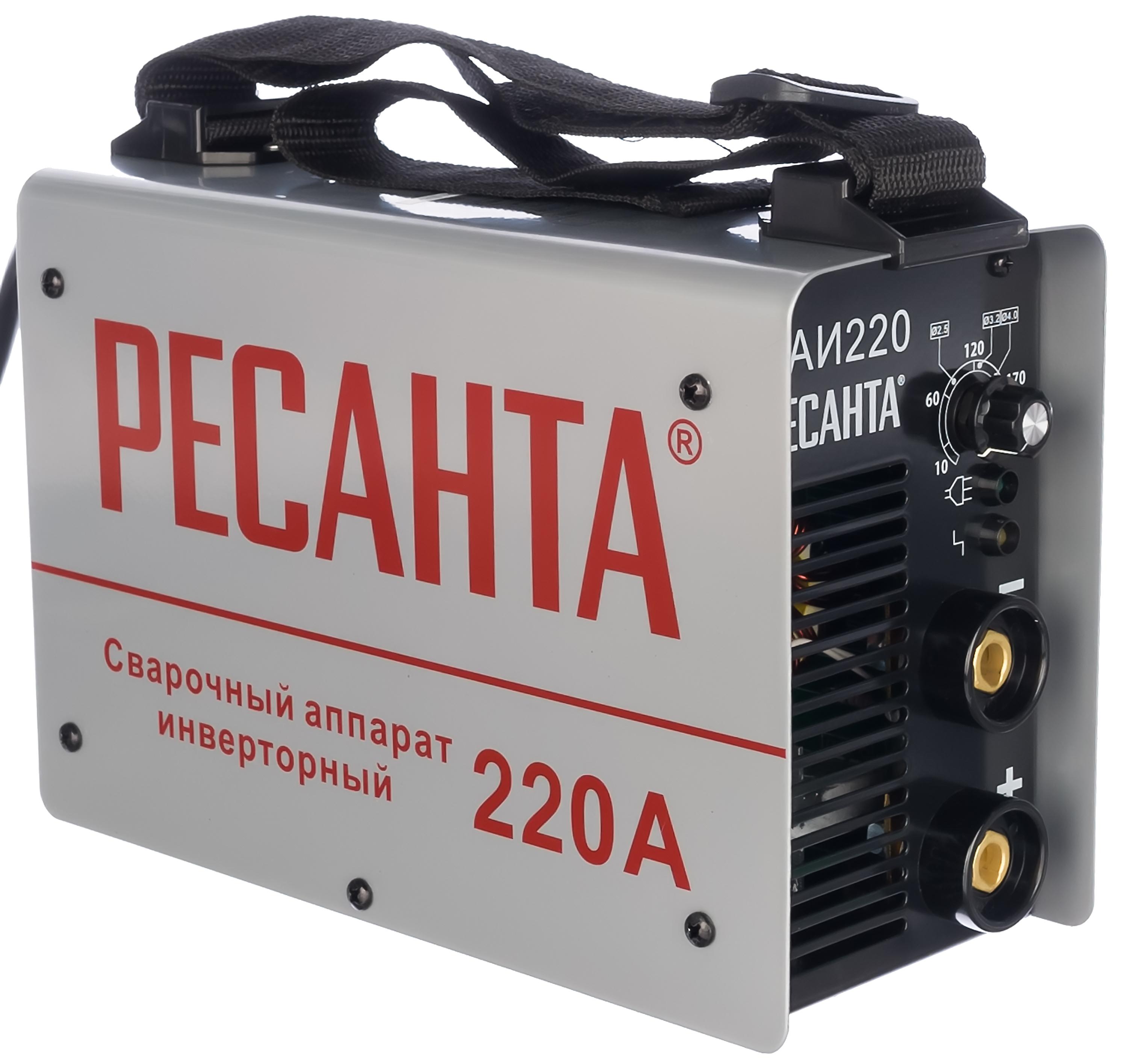 Сварочный инвертор Ресанта САИ 220 65/22