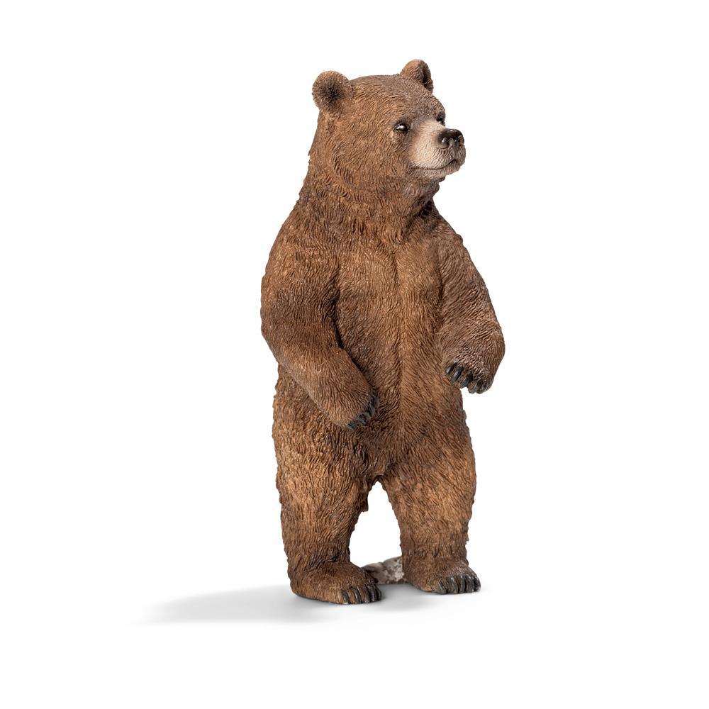 Купить Медведь гризли самка, Фигурка Schleich Медведь Гризли. самка коричневый (14686), Фигурки животных