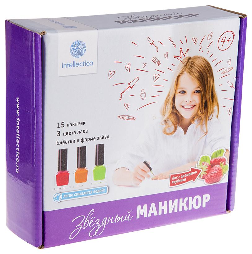 Купить Игровой набор Intellectico Звездный маникюр, Наборы детской косметики
