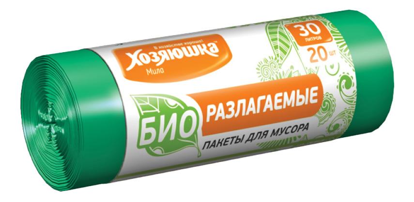 Мешок для мусора Хозяюшка Мила 30
