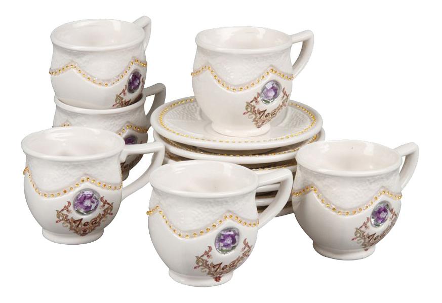 Чайный сервиз Rosenberg Чайный сервиз 8695, 12 предметов, 200 мл 12 пр. фото