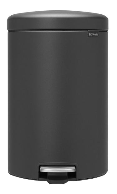Мусорный бак с педалью (20л), черный