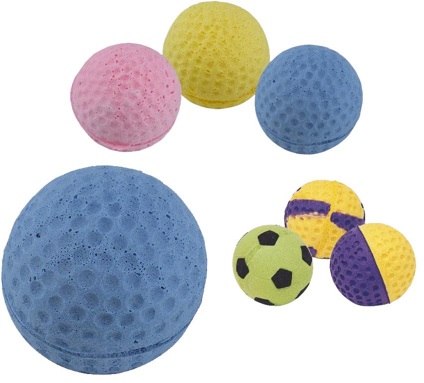Мяч для кошек ferplast, Foam Balls, Резина,