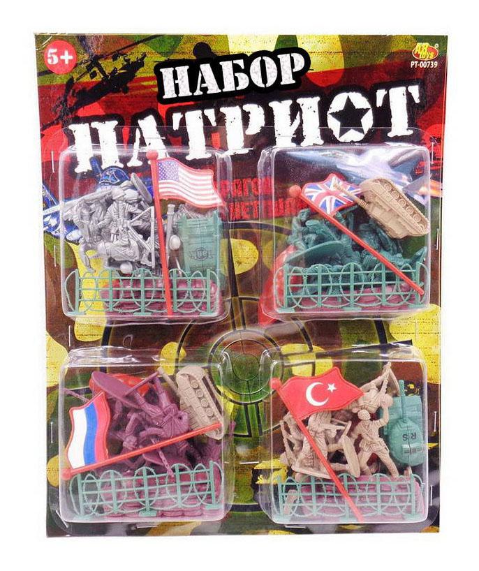 Купить Игровой набор ABtoys Патриот 48 предметов,