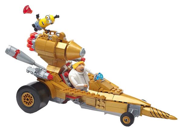 Купить Игровой набор Mattel Mega Bloks Гадкий Я машина Дрю FDX84, Игровые наборы
