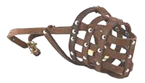 Намордник ВАКА кожаный № 3*30