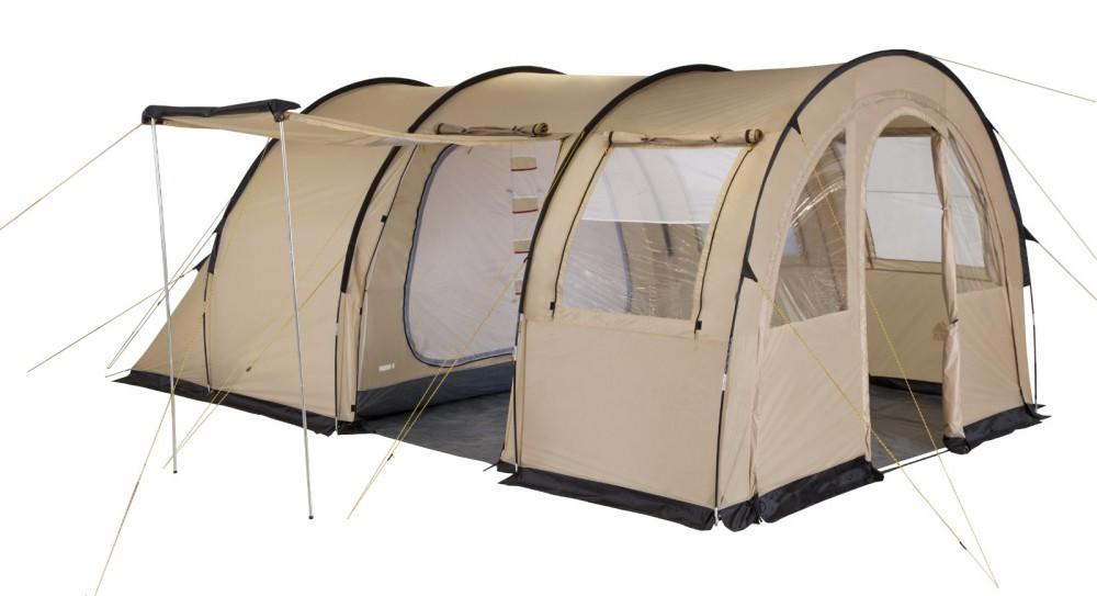 Палатка Trek Planet Vario четырехместная бежевая
