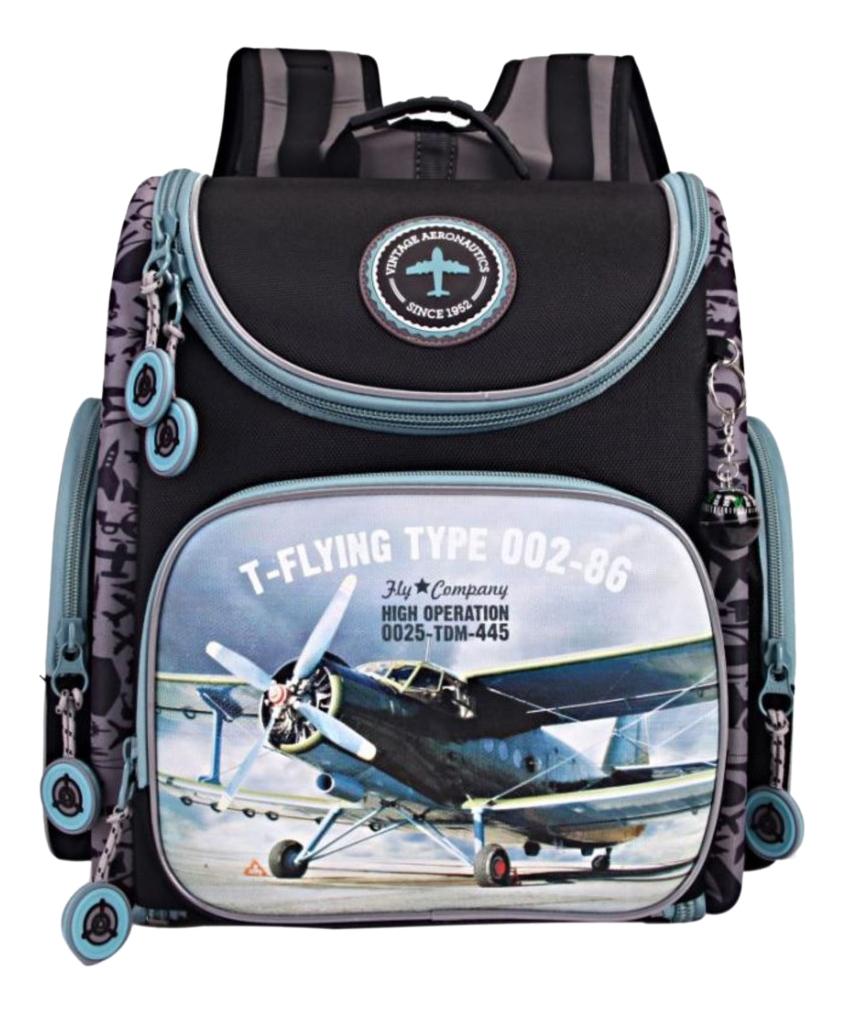 Рюкзак детский Grizzly RA-870-4 Рюкзак черный Ранец RA-870-4/1 черный