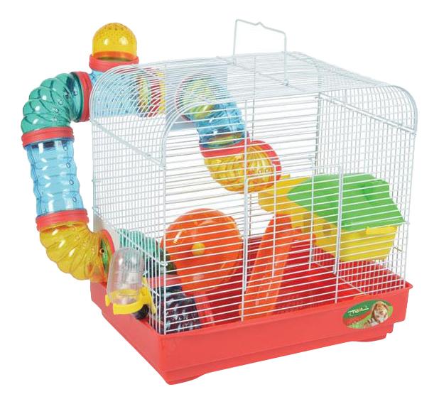 Клетка для крыс, морских свинок, мышей, хомяков Triol 33х23х24см