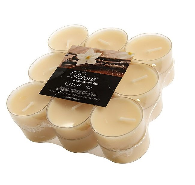 Kaemingk Ароматические свечи «Сладкая ваниль», 4*2