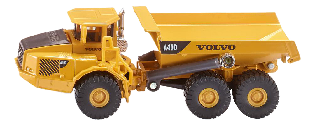 Купить Самосвал Volvo A40D, Самосвал думпер Volvo A40D 1:87 Siku 1877, Строительная техника
