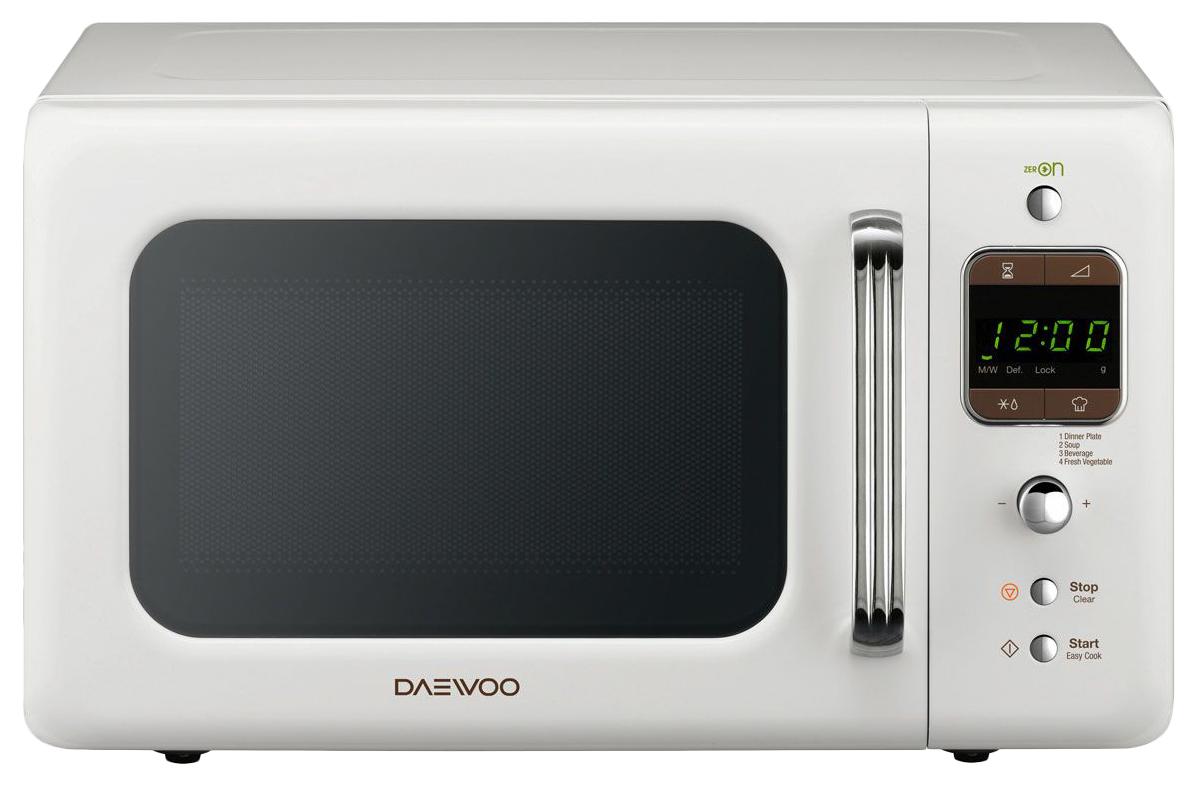 Микроволновая печь соло Daewoo KOR 6LBRW white