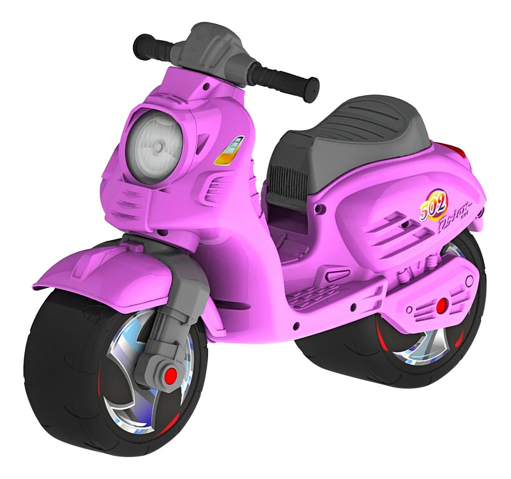 картинка Каталка детская R-TOYS Скутер розовая от магазина Bebikam.ru