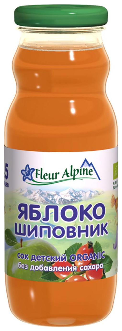 Сок Fleur Alpine Яблочно шиповниковый с