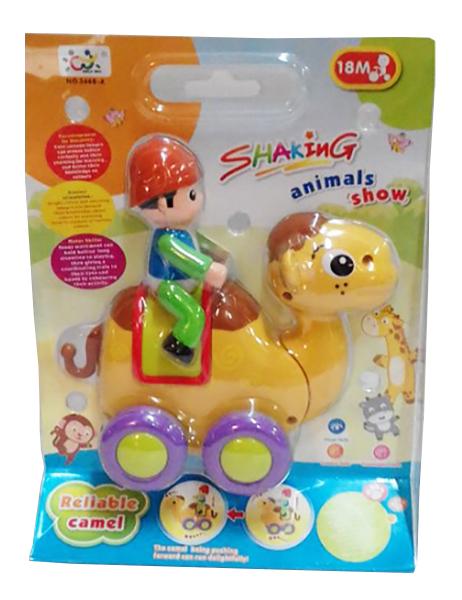Купить Малая, Каталка детская Gratwest Всадник 18x7x23 см В39992, Игрушечные машинки