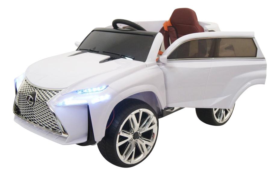 Электромобиль Lexus белый RIVERTOYS