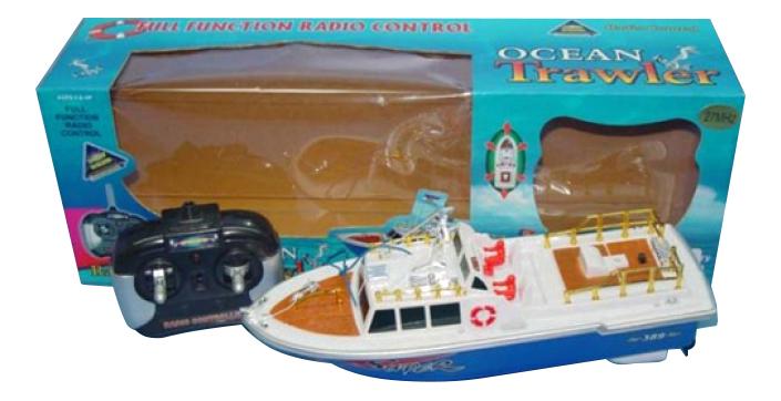 Купить Катер р у ocean trawler на бат М33619, Катер р/у Ocean Trawler Shenzhen Toys М33619, Радиоуправляемые катера