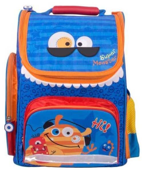 Купить Рюкзак Gulliver Монстрик Гошик M18 Синий, Школьные рюкзаки и ранцы