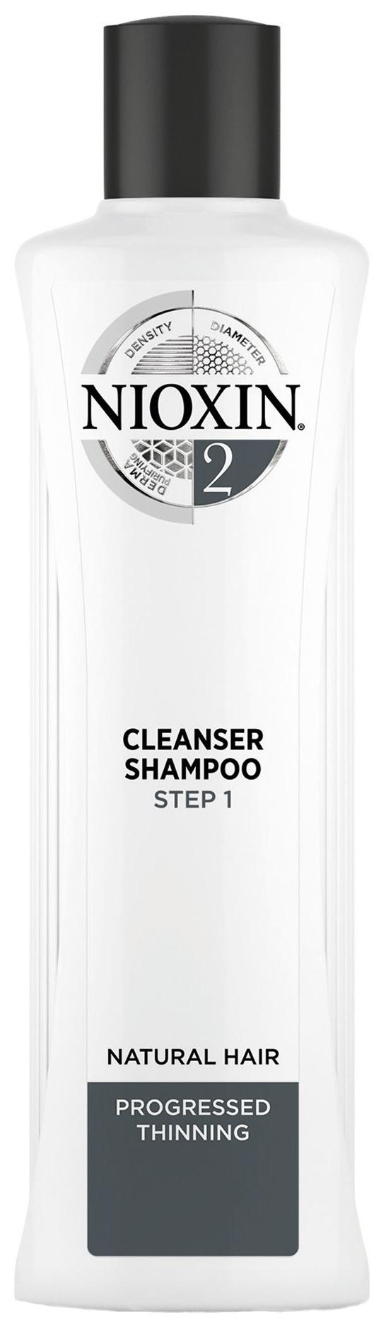 Купить Шампунь Nioxin System 2 Cleanser Shampoo 1000 мл, Cleanser Shampoo Система 2