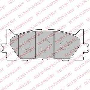Тормозные колодки дисковые Delphi LP2169 фото