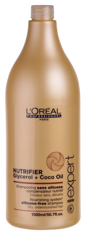 Шампунь L'Oreal Professionnel Nutrifier Glycerol + Coco Oil 1500 мл фото