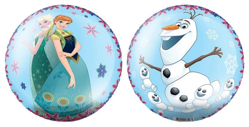 Купить Мячик детский ЯиГрушка Холодное сердце 23 см голубой 82307, Детские мячи