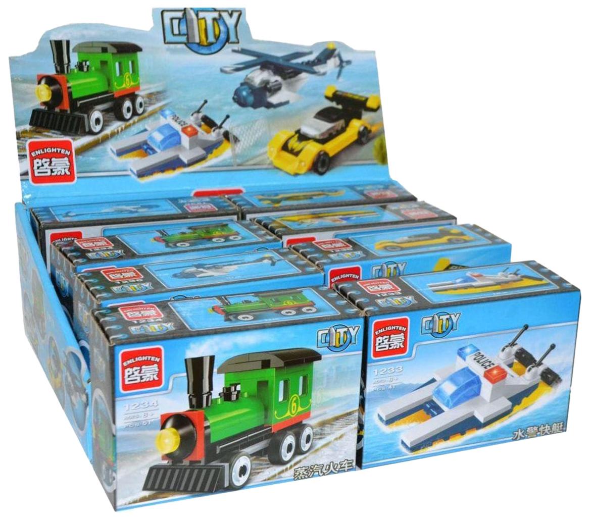Купить Городская техника, Конструктор Brick Городская техника 8 деталей Г78507,