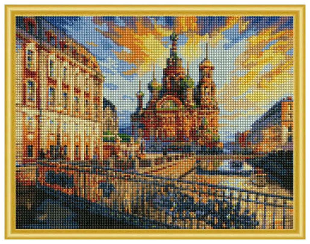 Купить РЫЖИЙ КОТ Алмазная мозаика Санкт-Петербург, 40x50 см AC4001, Рыжий кот, Мозаики