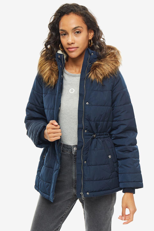 Куртка женская TOM TAILOR 1012202-10668 синяя XS фото