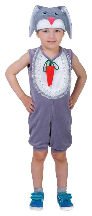 Карнавальный костюм Страна Карнавалия Заяц рост 98-104 см фото