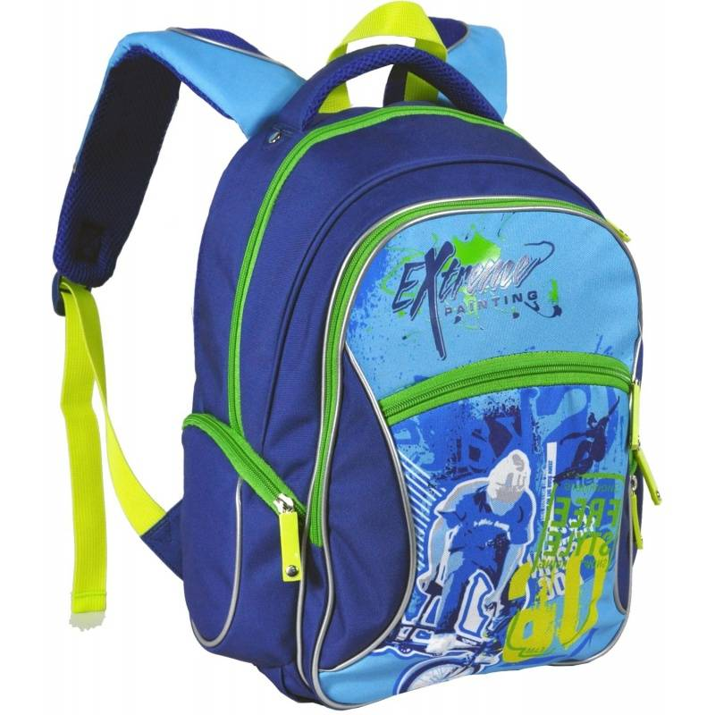 Рюкзак школьный Extreme Erich Krause для мальчиков Синий 39351