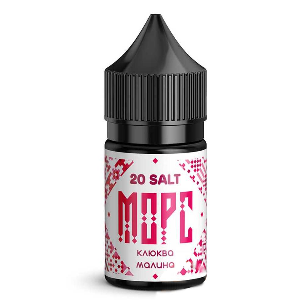 Жидкость для электронных сигарет Pride Vape Морс Salt клюква малина 30 мл  20 мг
