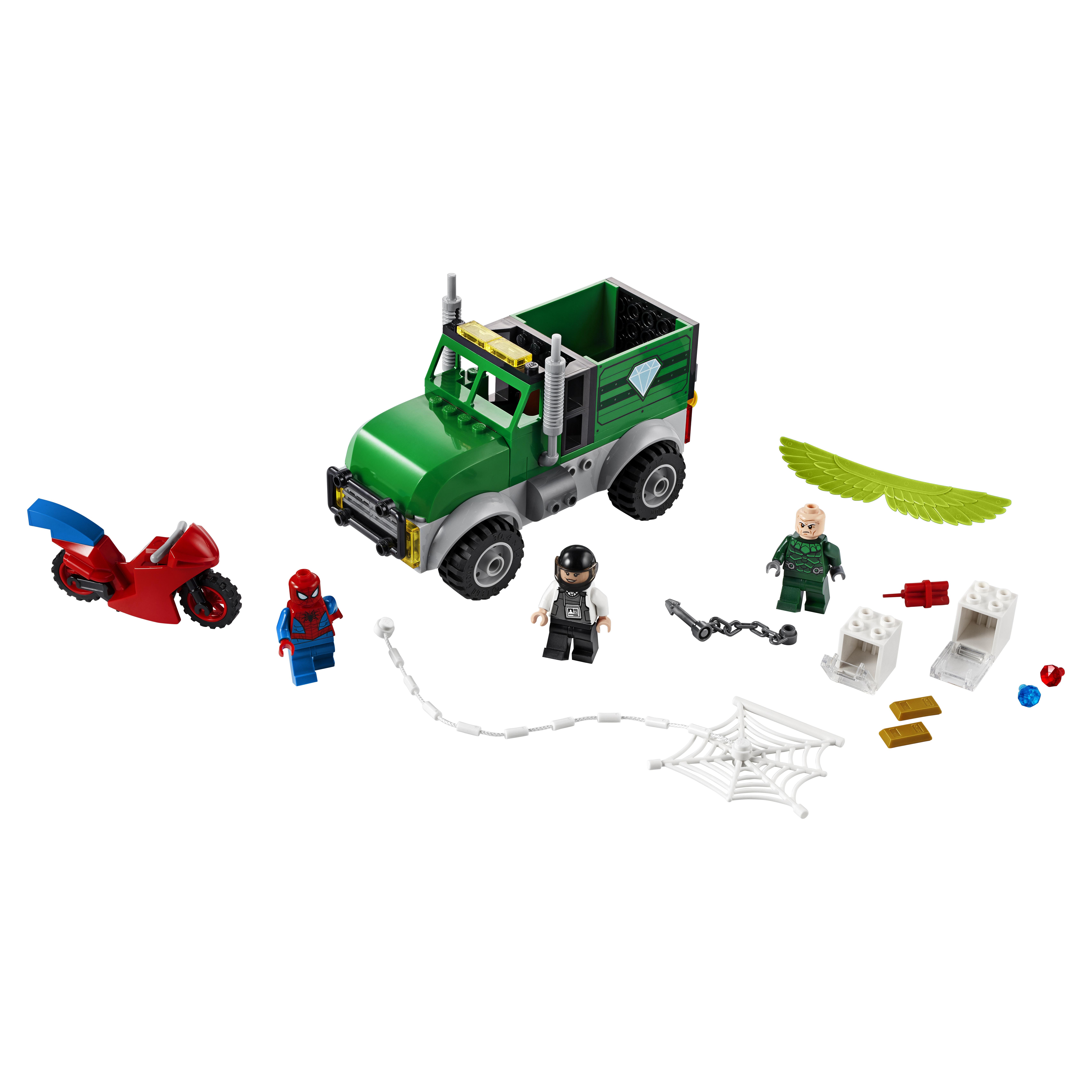 Конструктор LEGO Marvel Super Heroes 76147 Ограбление