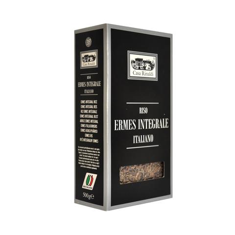 Рис Эрмес коричневый длиннозерный не шлифованный CR 500г