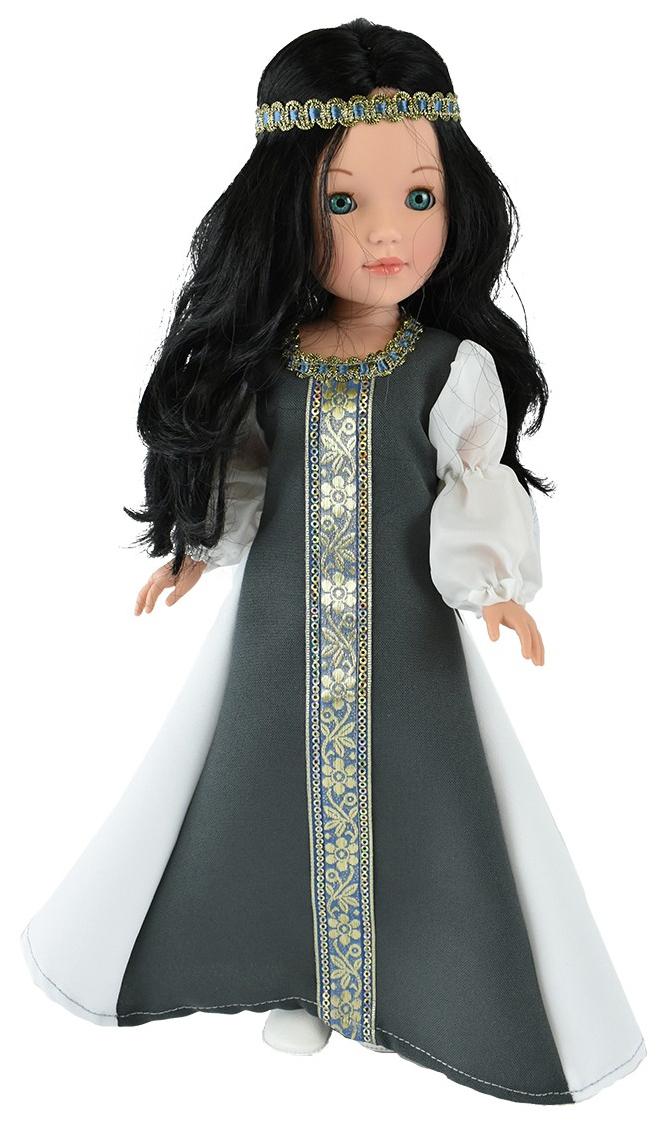 Купить Кукла Пепа черноволосая, в национальном платье (в подарочной коробке), 41 см, Vidal Rojas Dolls,