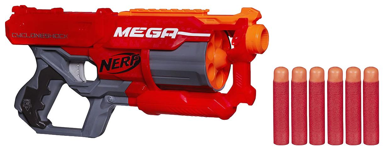 Бластер NERF Мега Циклон-шок