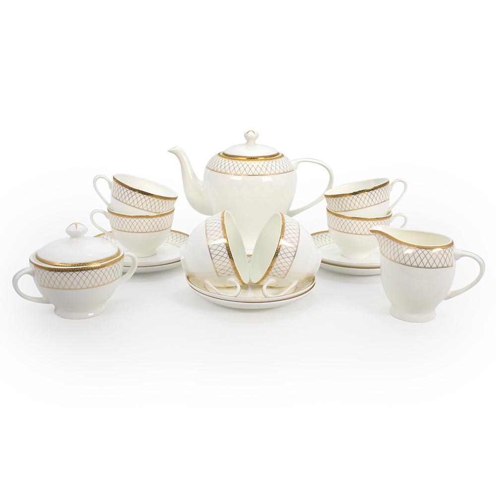 Чайный сервиз АККУ Искандер 15 предметов