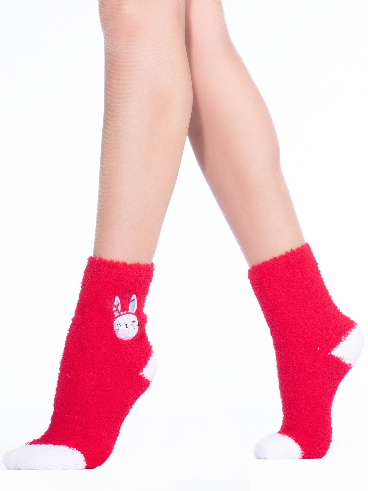 Носки женские Hobby Line красные 36-40