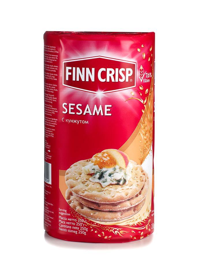 Хлебцы Finn Crisp Пшеничные с кунжутом 250г