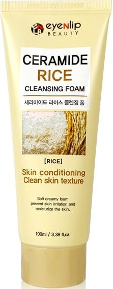 Купить Пенка для умывания Eyenlip Ceramide Rice Cleansing Foam, 100 мл