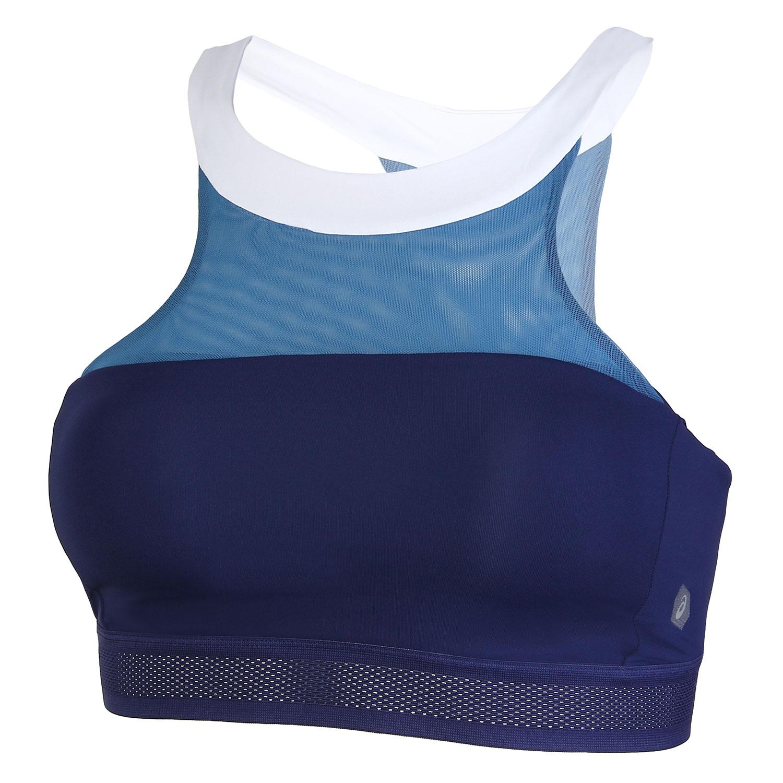 Спортивный бра Asics Halterneck, indigo blue, M INT фото