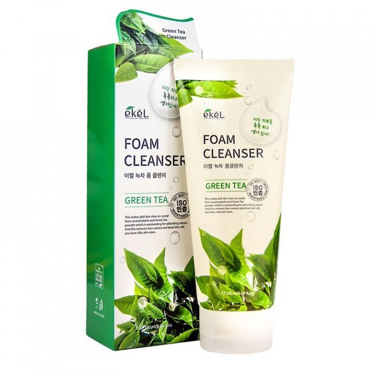 Купить Пена для умывания с экстрактом зеленого чая Ekel Foam Cleanser Green Tea 180 мл