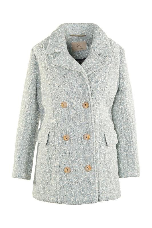 Пальто женское ALBION LW24 голубое L