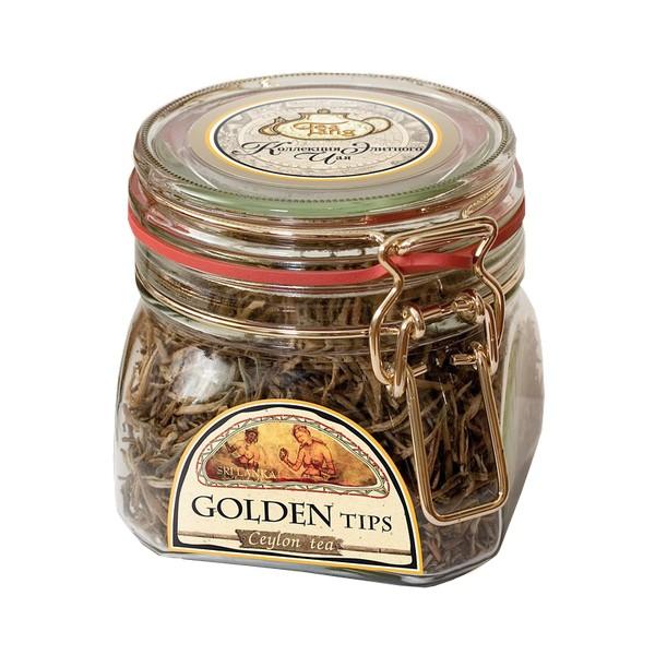 Чай весовой зеленый Ти Тэнг golden tips в стекле 50 г