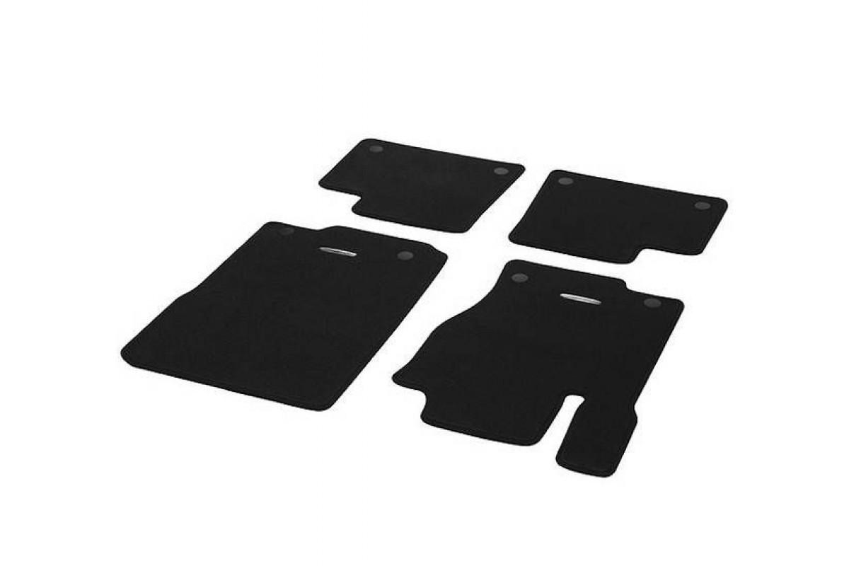 Коврики велюровые черные 4шт w166, x166 MERCEDES-BENZ арт. A1666804102 689F87